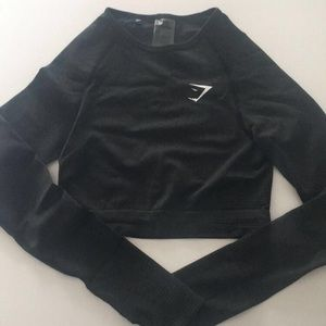 NWOT Gymshark Vital Long sleeve crop top